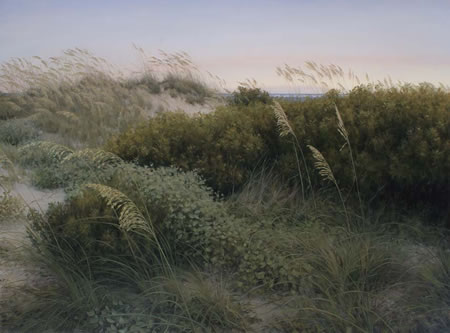 Interdune, oil on canvas by Philip Juras © 2009