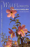 bookcover Wild Flowers of NC by William S. Justice, C. Ritchie Bell, and Anne H. Lindsey