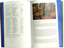 page from Wildflowers and Plant Communities of the Southern Appalachian Mountains and Piedmont by Tim Spira
